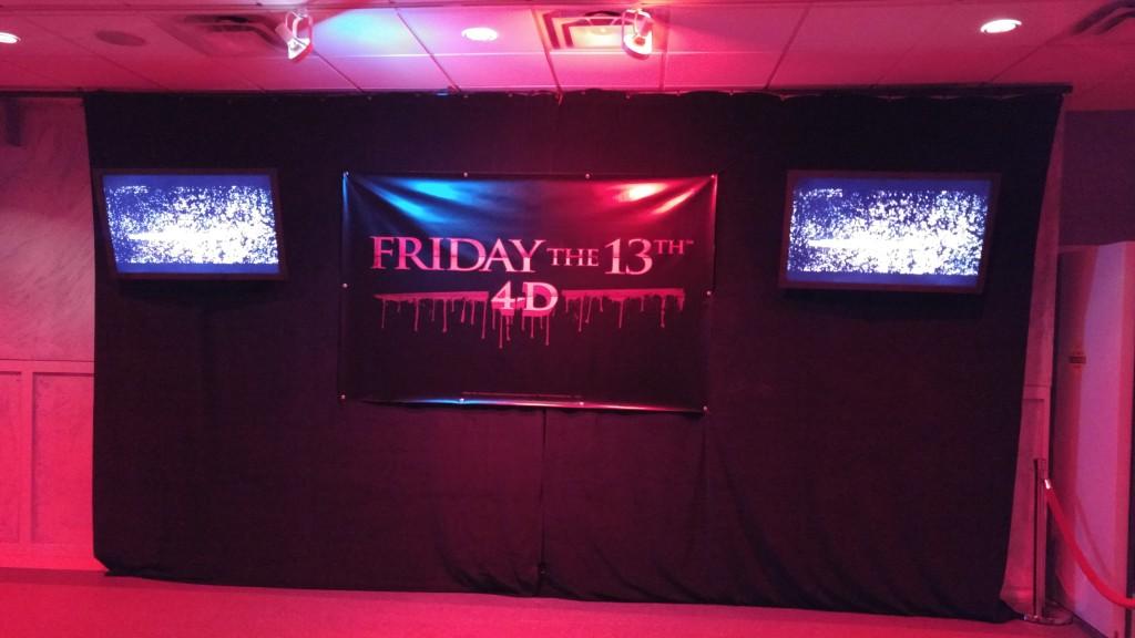 4D Preshow TVs