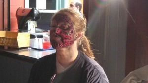 Torrie Makeup After