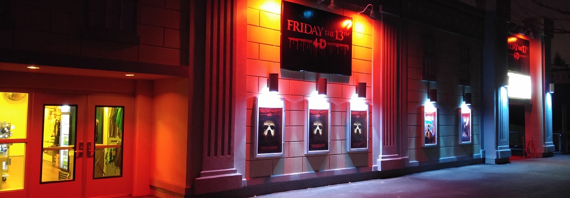 Friday the 13th 4D and 2015 Phantom Fright Nights