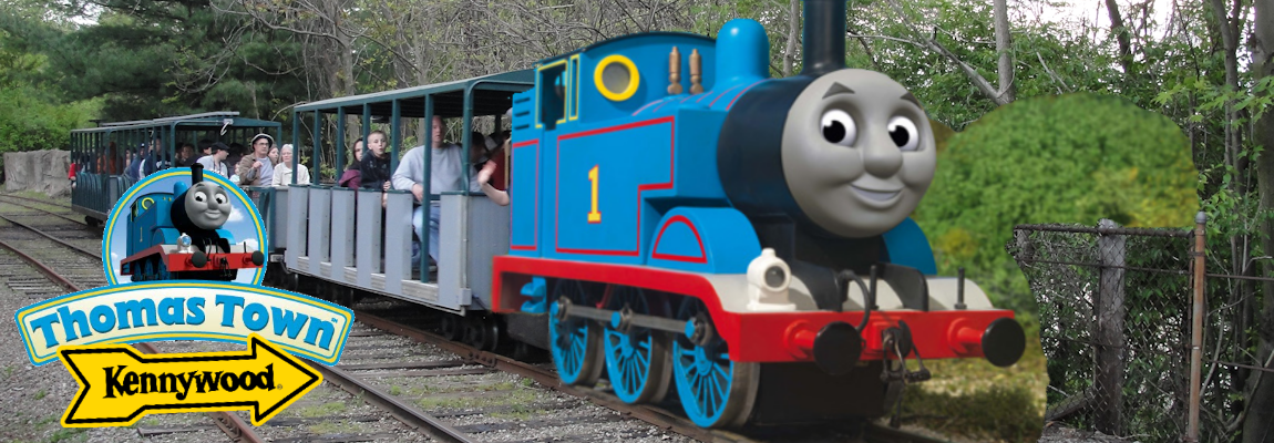 New at Kennywood in 2018: Thomas Town!
