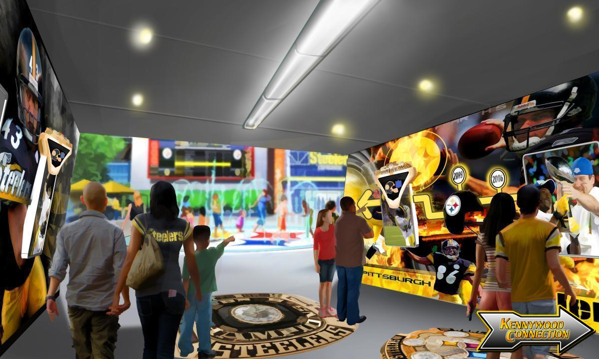 Steelers Country - Entry Tunnel