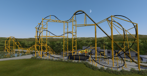 Steel Curtain full coaster