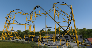 Steel Curtain full coaster 2