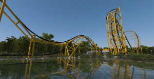 Steel Curtain lagoon view