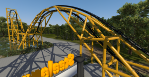 Steel Curtain on-ride