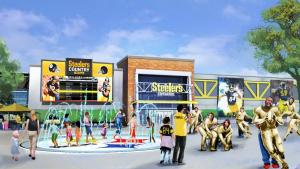 Steelers Country - Entry Plaza